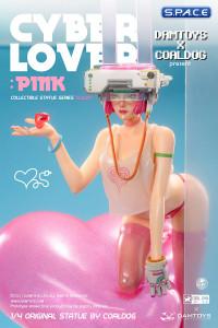 1/4 Scale Cyber Lover: Pink Statue (Coaldog Series)