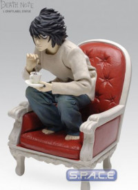 L Craft Label Statue (Death Note)
