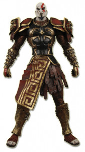 Ares Armor Kratos Closed Mouth from God of War II (Player Select)