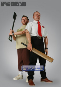 Bundle of 2: 12'' Shaun & Ed (Shaun of the Dead)