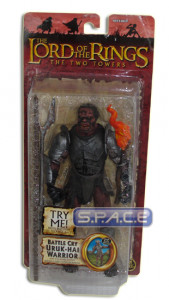 Battle Cry Uruk-Hai Warrior (Trilogy - TTT Series 5)