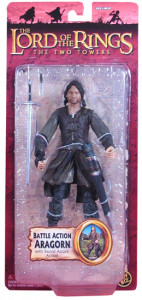 Battle Action Aragorn (The Lord of the Rings Trilogy - TTT Series 5)