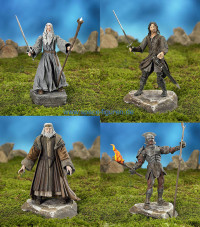 Complete Set of 4 : Trilogy - TTT Series 5 (Lord of the Rings)