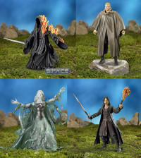Set of 4 : Trilogy - FOTR Series 5 (Lord of the Rings)