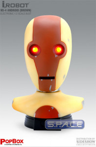 1:2 Scale NS-4 Android brown Head Replica (I, Robot)