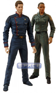 Apollo and Dualla 2-Pack (Battlestar Galactica)