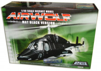1/48 Scale Die Cast Airwolf - Mat Black Version
