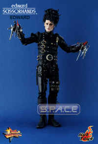 1/6 Scale Edward Scissorhands Movie Masterpiece