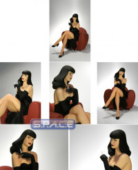 Bettie Page Statue - Pinup 01