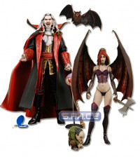 Set of 2: Dracula and Succubus (Castlevania)