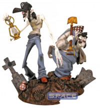 Gris Grimly's Stash and Hub Statue (Cannibal Flesh Riot)