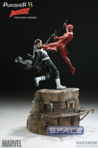 The Punisher vs. Daredevil Diorama (Marvel)