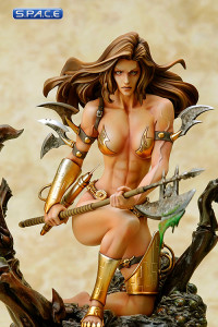 Monica's Axe by Boris Vallejo Statue (Fantasy Figure Gallery)