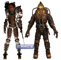 Set of 2: Subject Delta and Big Sister (Bioshock 2)