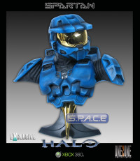 1:2 Scale Blue Spartan Bust (Halo)
