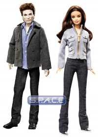 Set of 2 : Edward and Bella Barbie Doll (Twilight)
