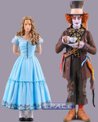 2er Set: Alice and Mad Hatter (Alice in Wonderland)