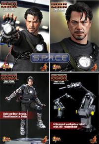 1/6 Scale Tony Stark Mech Test Version MMS116 (Iron Man)