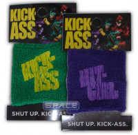 Set of 2 : Terry Cloth Wristband (Kick-Ass)