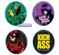 Pin Set (Kick-Ass)