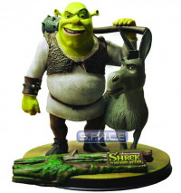 Shrek and Donkey Statue (Shrek Forever After)