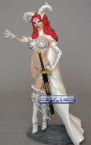 White Tarot - Witch of the Black... PVC Statue (Femme Fatales)
