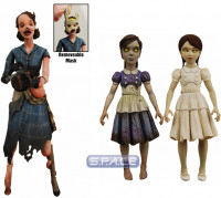 2er Satz: Lady Smith Splicer and Young Eleanor & Little Sister (Bioshock 2)
