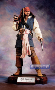 1/3 Scale Jack Sparrow Cinemaquette (Pirates of the Caribbean)