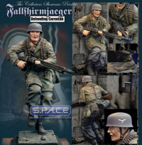 Fallschirmjäger Defending Carentarn Statue (Military)