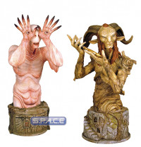 2er Set: Pale Man and Faun Bust SDCC 2010 (Pan's Labyrinth)