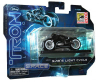 1:50 Scale Sam's Light Cycle Die Cast SDCC 2010 Exclusive (Tron)