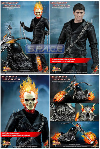 1/6 Scale Ghost Rider with Hellcycle Movie Masterpiece MMS133
