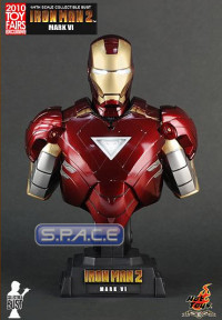 1/4 Iron Man Mark VI Bust Exclusive (Iron Man 2)