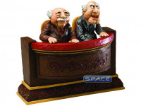 Statler and Waldorf Mini-Statue (The Muppet Show)