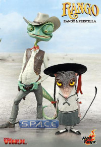 Priscilla and Rango Vinyl Collectible Figures Set (Rango)