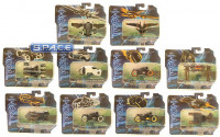Set of 10: 1:50 Scale Die Cast Series 2 (Tron Legacy)