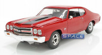 1:18 Scale 1970 Chevrolet Chevelle Red (Fast and Furious)