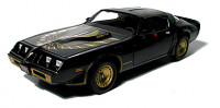 1:18 Scale 1980 Pontiac Trans Am Die Cast (Smokey and the Bandit)