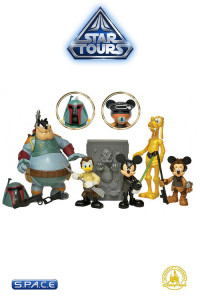 5er Komplettsatz: Star Tours Disney Exclusive Series 4