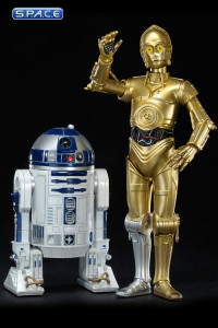 1/10 Scale C-3PO & R2-D2 ARTFXPlus Model Kit (Star Wars)