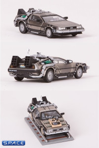1:43 Scale Die Cast DeLorean Time Machine Collector´s 3-Pack (Back to the Future)