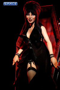 Elvira in Coffin Premium Format Figure (Elvira's Movie Macabre)