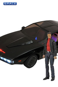 1:15 Scale KITT with Michael Knight Exclusive (Knight Rider)