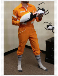 Aperature Jumpsuit Costume (Portal)