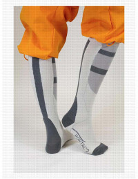 Aperture Leboratories Long-Fall Socks (Portal)