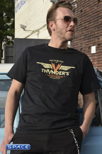Thunder's Gasoline & Motor Oil T-Shirt (Ultra Trash)