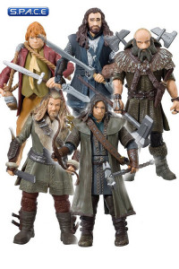 Bilbo Baggins and the Dwarfs 5-Pack (The Hobbit - An Unexpected Journey)
