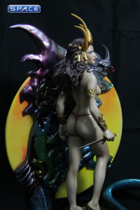 Dragon Maiden by Boris Vallejo Resin Statue (Fantasy Figure Gallery)
