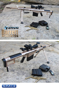 1/6 Scale Sniper Rifle Barrett M107A1 Set C
