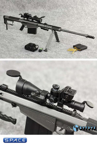 1/6 Scale Sniper Rifle Barrett M107A1 Set E